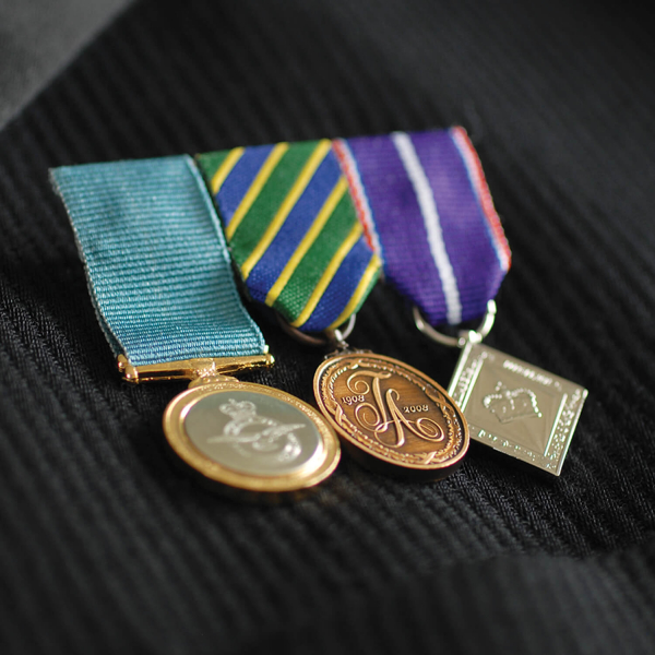 MEDAL MOUNTING MINIATURES 10