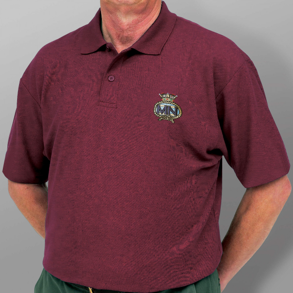 Polo Shirt - Burgundy -