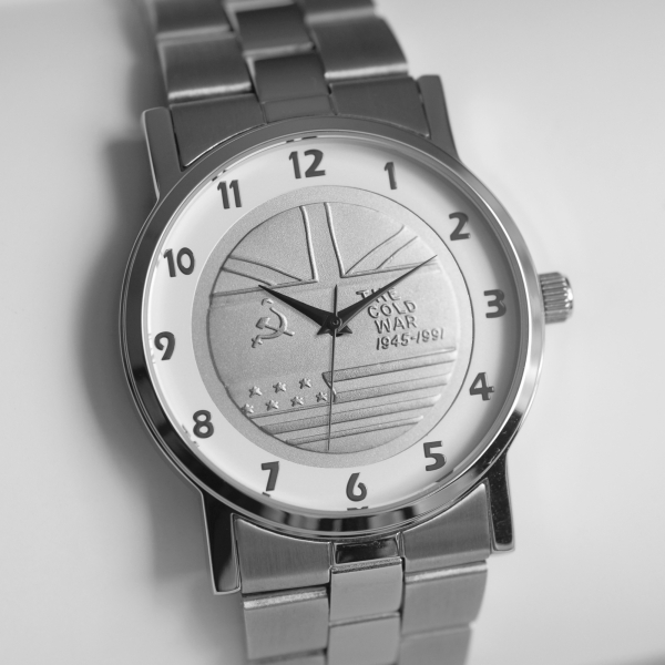 MEDALWATCH SILVER DIAL SILVER BRACELET