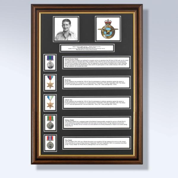 My Military History 5 Awards