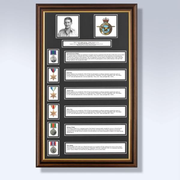 My Military History 6 Awards
