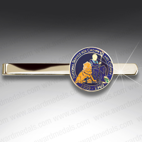National Service Britannia Tie Slide