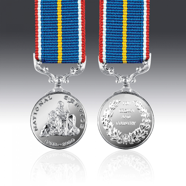 National Service Miniature Medal