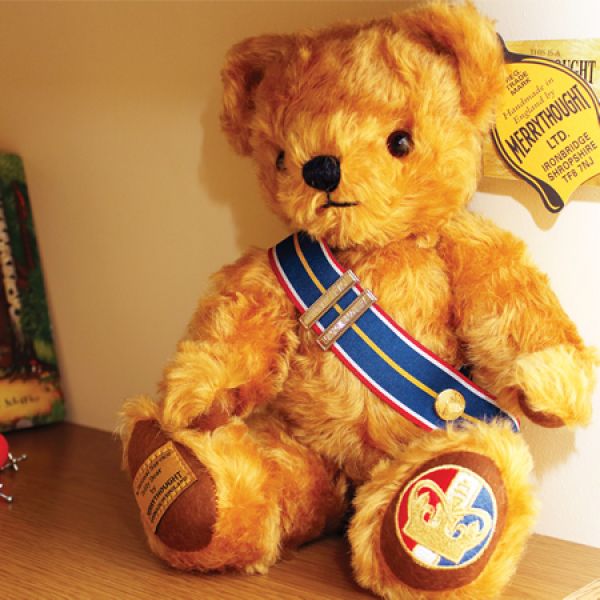 National Service Merrythought Teddy Bear