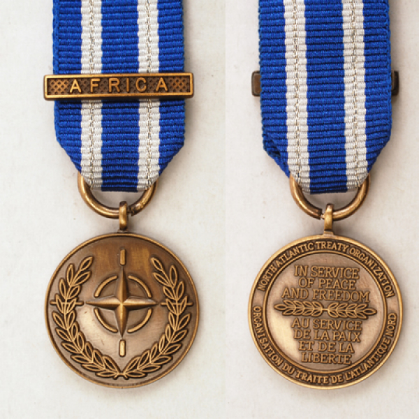 NATO Africa Miniature Medal