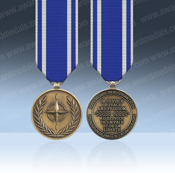 NATO Macedonia Miniature Medal