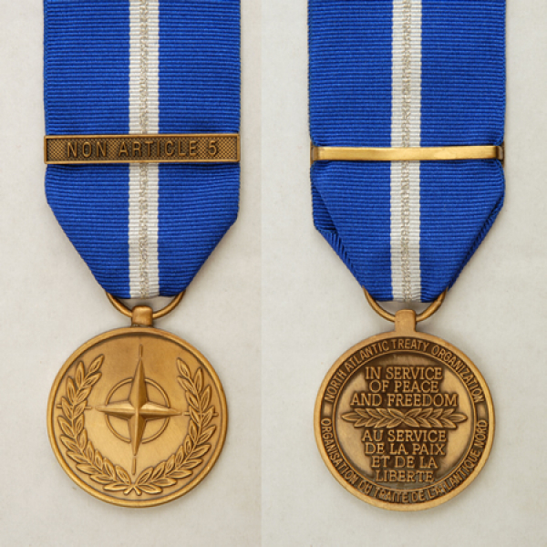 NATO Non Article 5 Medal