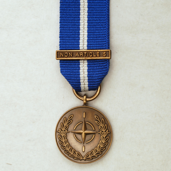 NATO Non Article 5 Miniature Medal