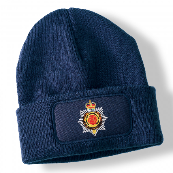 Royal Corps of Transport Navy Blue Acrylic Beanie Hat