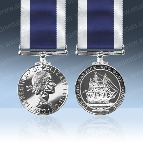 Royal Navy Long Service Medal EIIR