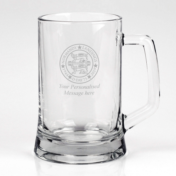 Normandy 75 Glass Tankard