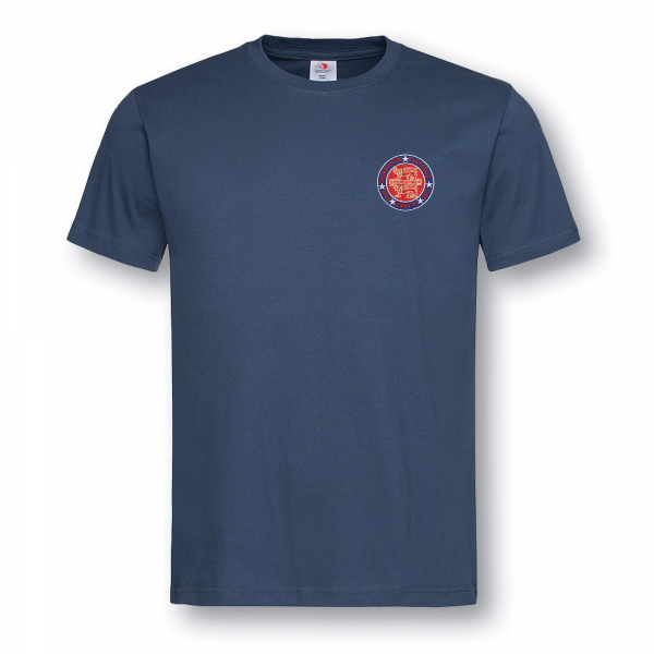 NORMANDY 75 NAVY BLUE T-SHIRT