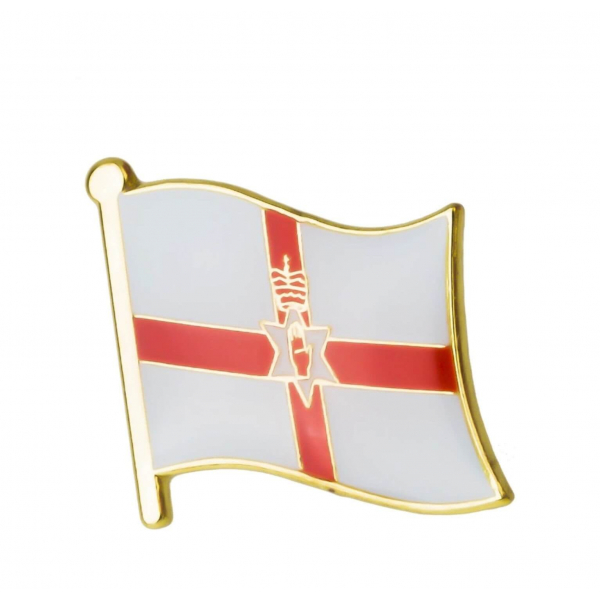 Northern Ireland Flag Lapel Badge