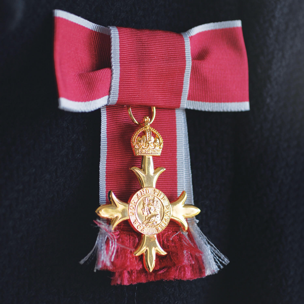 OBE Civil Full Size Medal Loose