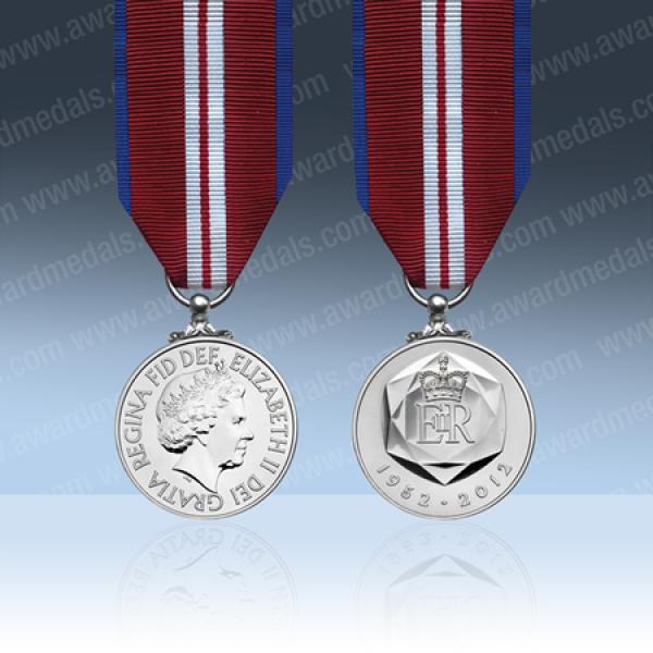 Queens 2012 Diamond Jubilee Miniature Medal