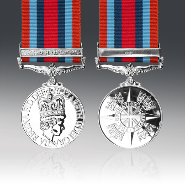 OSM Congo Miniature Medal with DROC Clasp