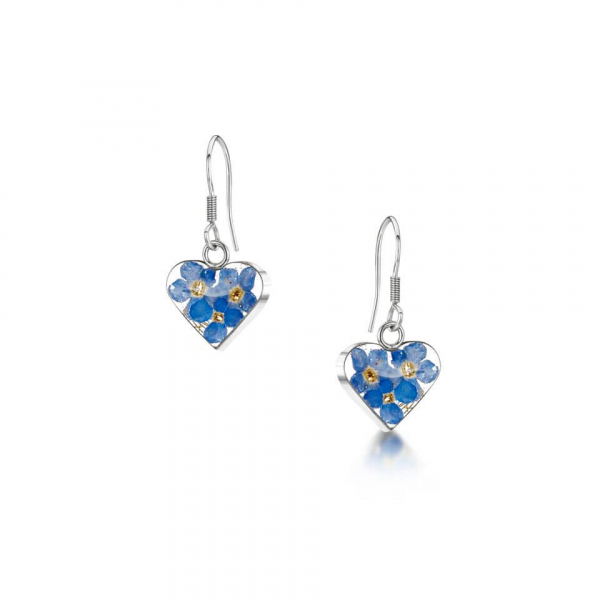 Shrieking Violet Forget Me Not Earrings