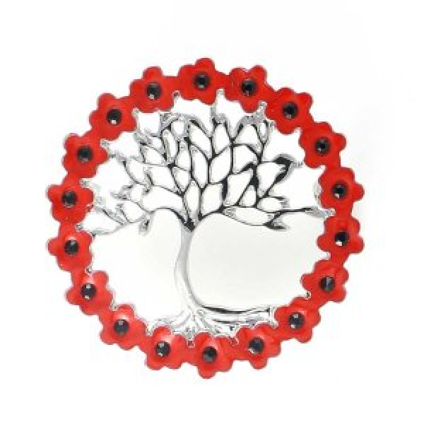 Tree of Life Pin Brooch