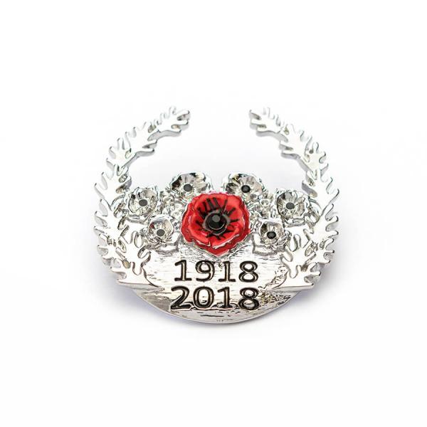 Centenary Wreath Brooch