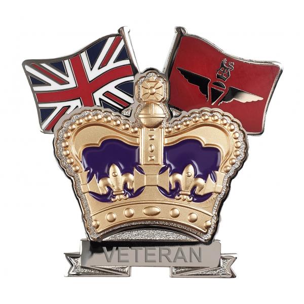 Parachute Regiment Crown & Country Lapel Badge