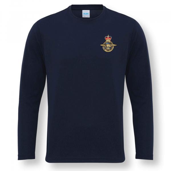 Personalised Performance Long Sleeve T-Shirt