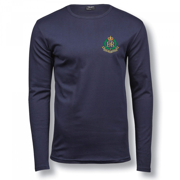 Personalised Long Sleeve 100% Cotton T-Shirt
