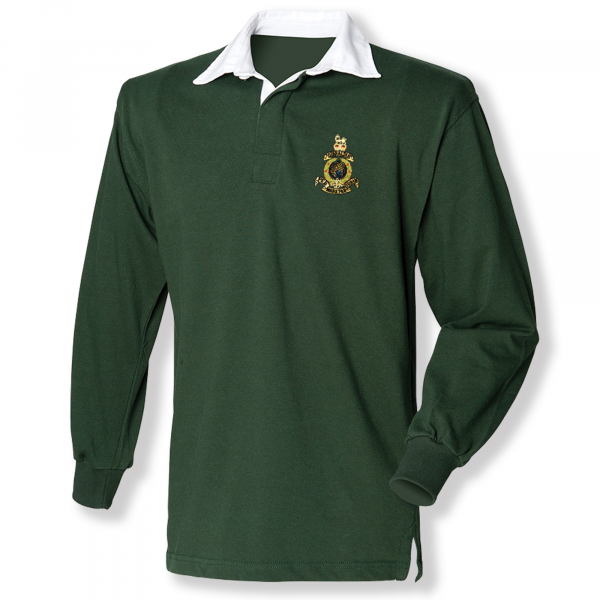 Rugby Shirt - Bottle Green -