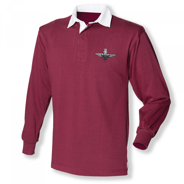 Rugby Shirt - Burgundy -
