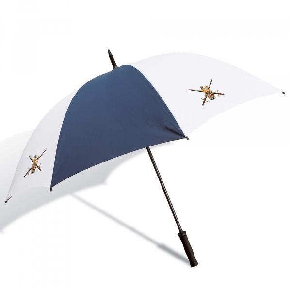 Navy Blue & White Personalised Umbrella