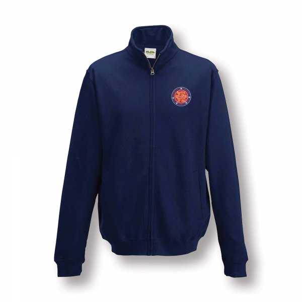 NORMANDY 75 NAVY BLUE ZIP SWEATSHIRT
