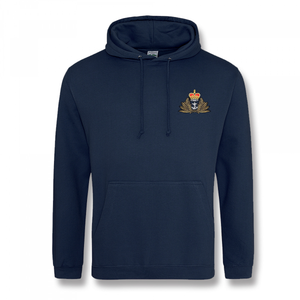 Personalised Navy Blue Hooded Sweatshirt