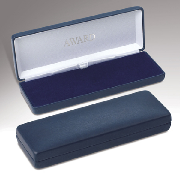 Plain Blue Medal Case
