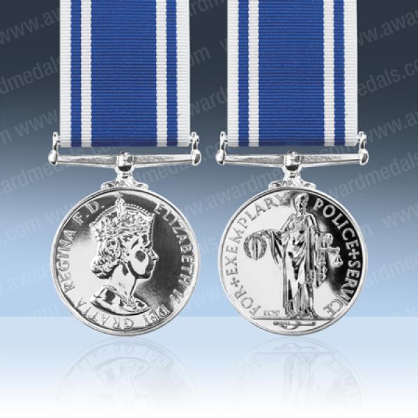 Police Long Service Medal EIIR