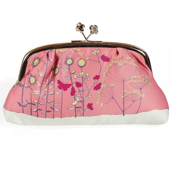 Poppy Collection - Pink Silk Purse