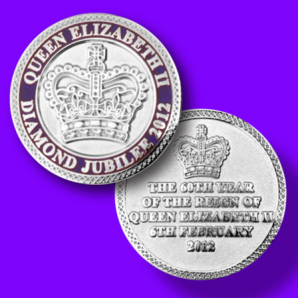 Diamond Jubilee Challenge Coin