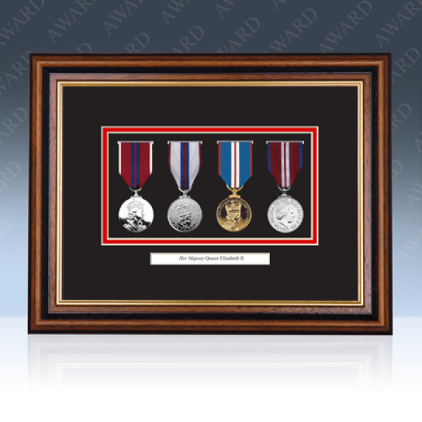 Queens Diamond Jubilee Medal Frame