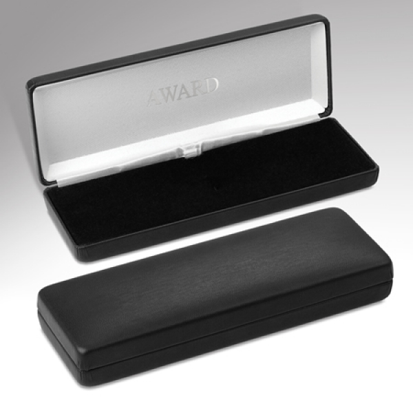 Plain Black Medal Case