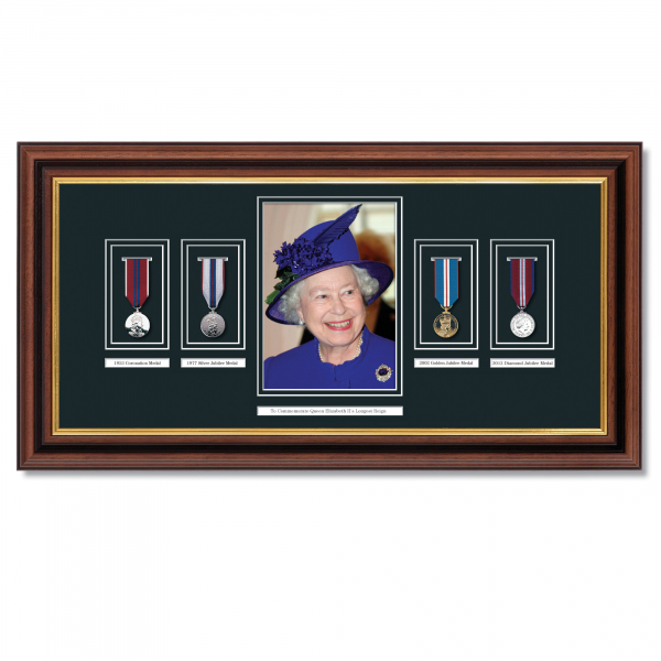 Queens Longest Reign Framed Commemoration