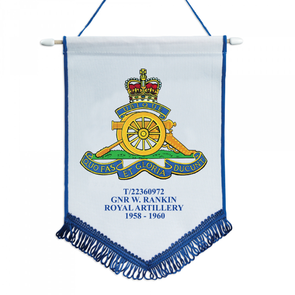 Personalised Printed Pennant