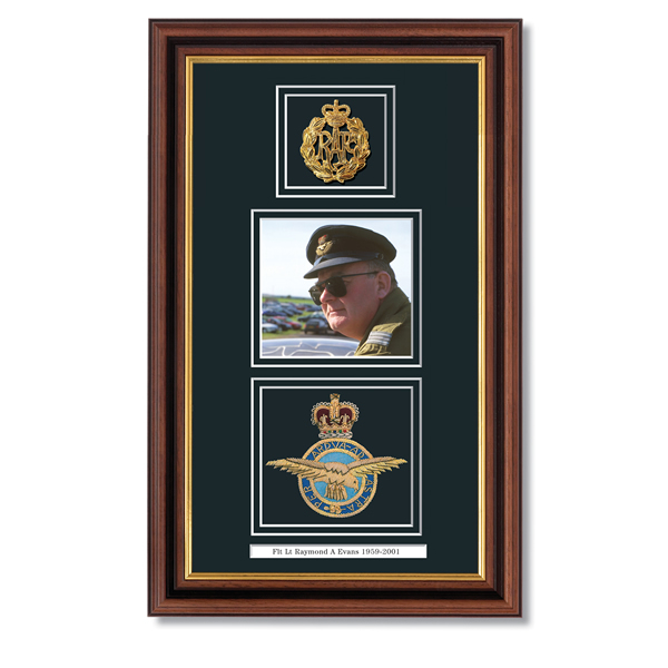 Military Badge of Honour Frame