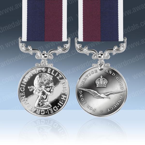 RAF Long Service Medal EIIR