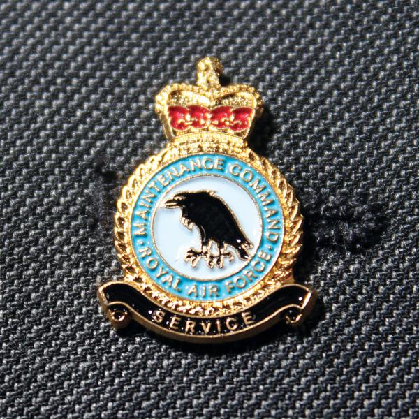 RAF Maintenance Command Lapel Badge
