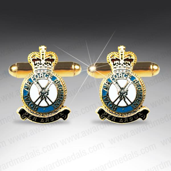 RAF Regiment Cufflinks