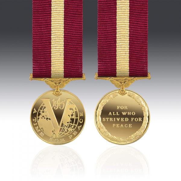 Restoration of Peace Miniature Medal
