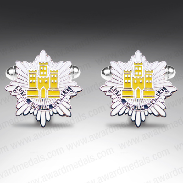 Royal Anglian Regiment Cufflinks