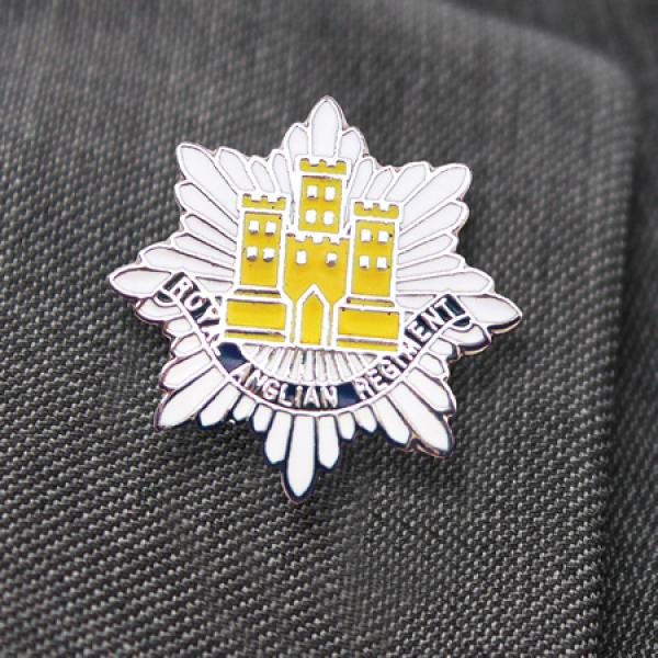 Royal Anglian Regiment Lapel Pin