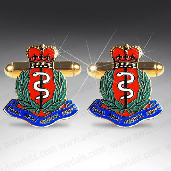 Royal Army Medical Corps Cufflinks