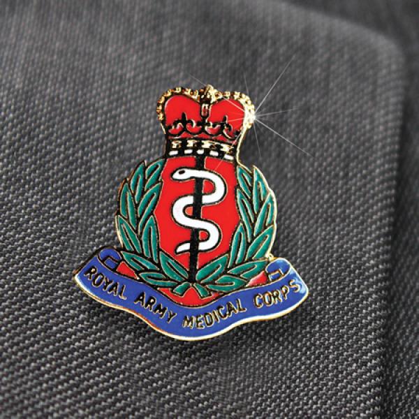 Royal Army Medical Corps Lapel Pin
