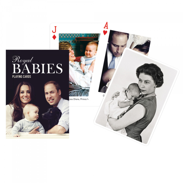 Royal Babies Playing Cards