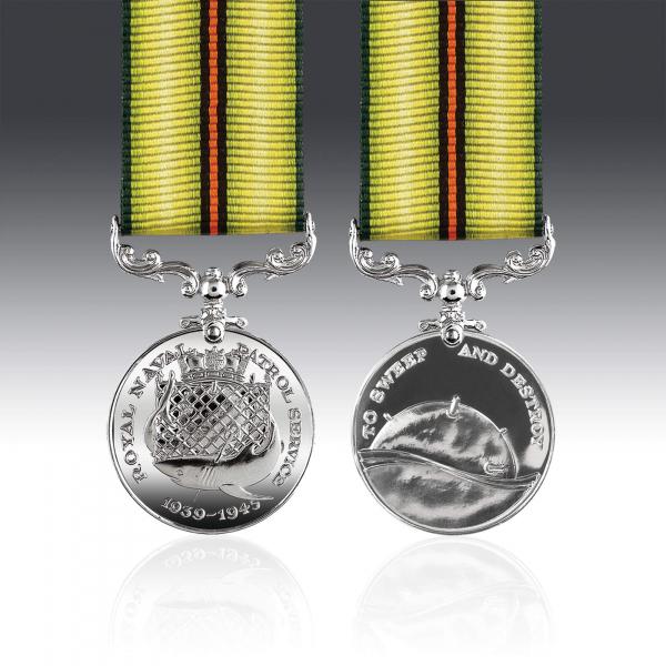 Royal Naval Patrol Service Miniature Medal